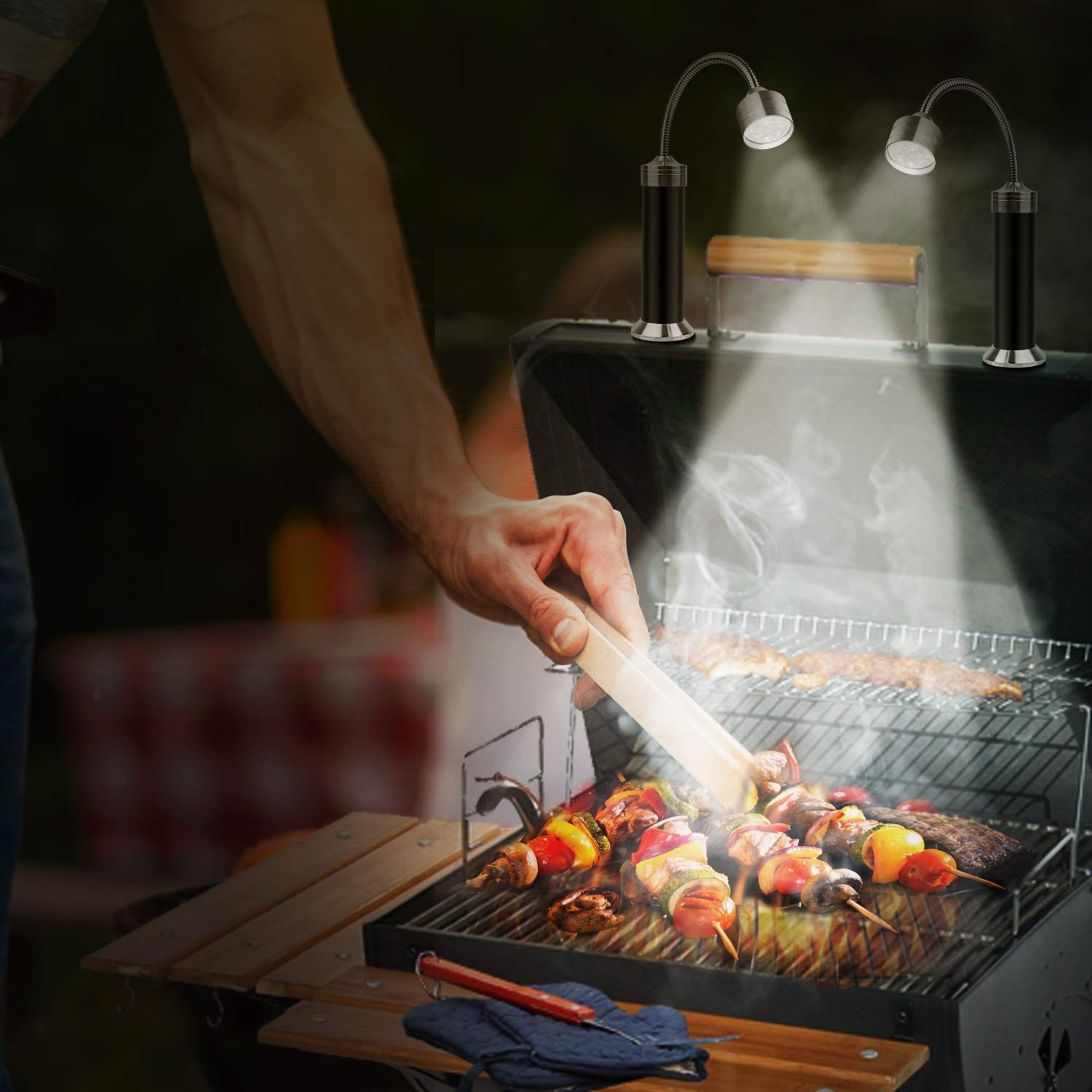 Magnetic Grill Light For Bbq Grill Light Barbecue Grill Bbq Grill