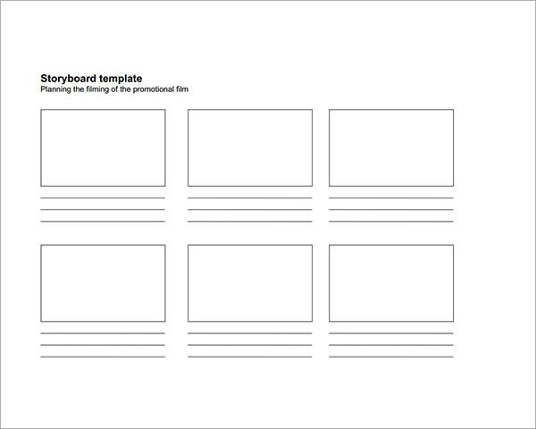 Storyboard Sample Image  Storyboard Templates