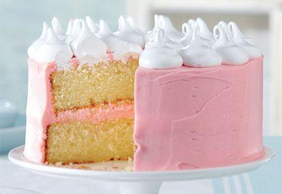 Recette Gâteau étagé au chocolat blanc , Coup de Pouce