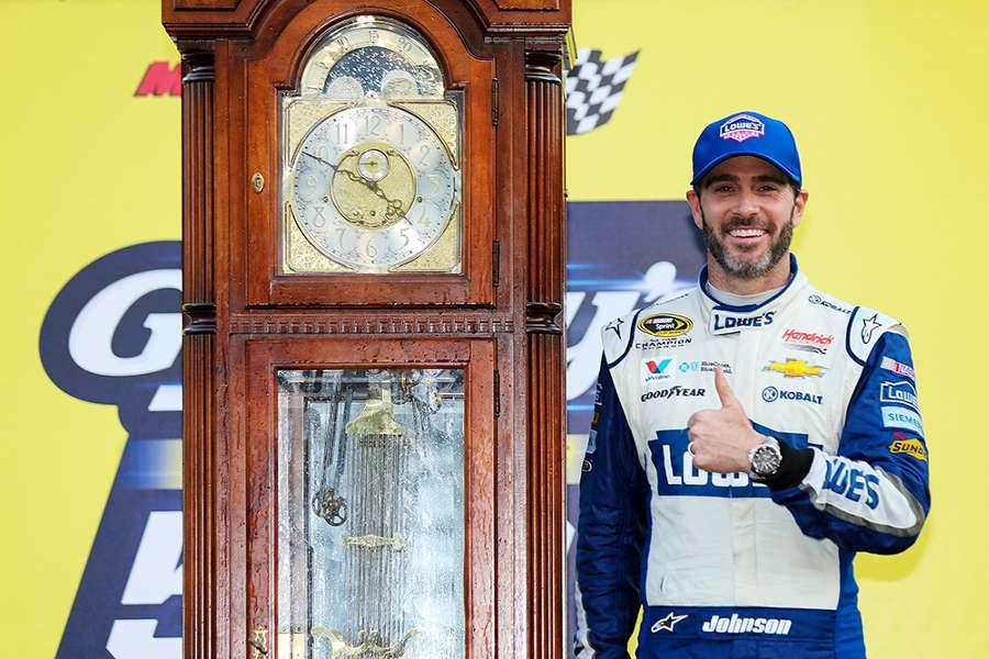 Must See Photos From Nascar S Goody S Fast Relief 500 Nascar Grandfather Clock Clock