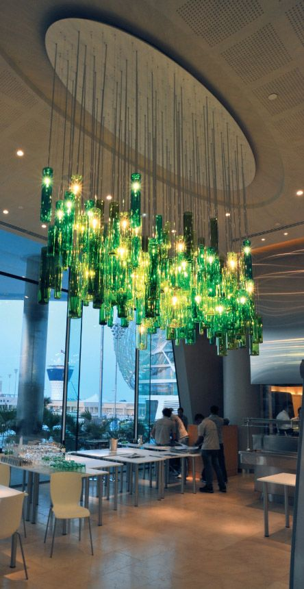 Bottles  #lighting #chandelier #lightingfixtures #commercialproperty #crystalchandelier #homedecor