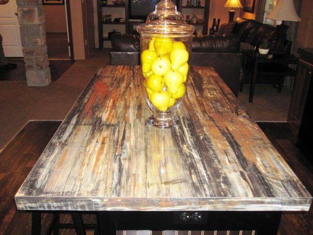 Countertops Petrified Wood Countertop Cost Beautiful Wood