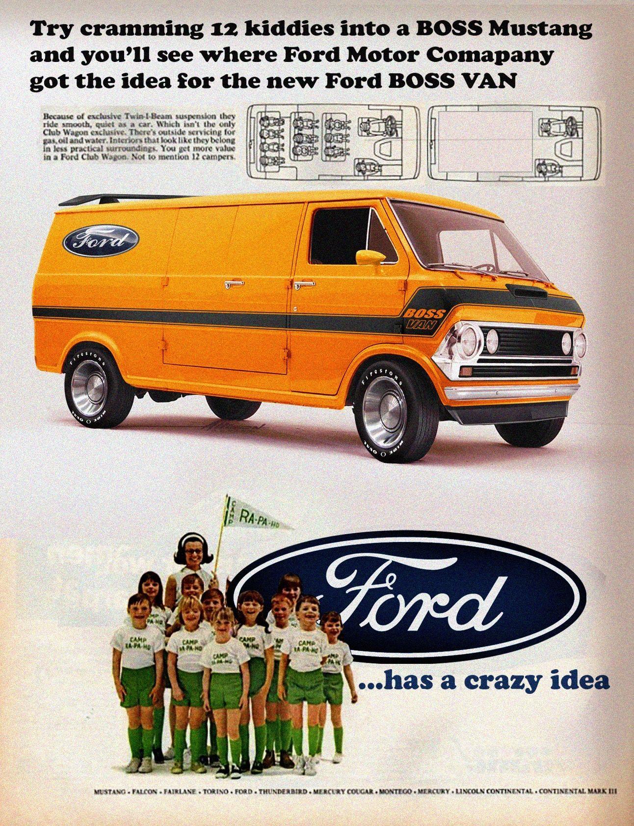11b493df86 Ford BOSS Van