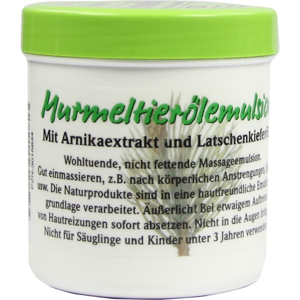 MURMELIN Emulsion Arlberger:   Packungsinhalt: 200 ml Emulsion PZN: 03015634 Hersteller: Grüner Pharmavertrieb Preis: 13,31 EUR inkl. 19…