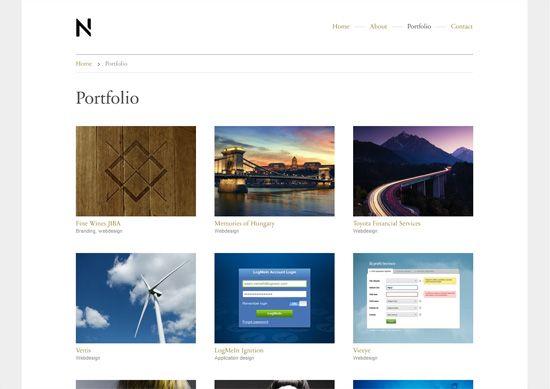 30 Minimalist Portfolio Website Designs For Inspiration Portfolio Website Design Portfolio Website Website Design