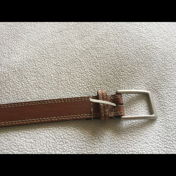 Basic brown belt. Perfect condition! Size M, 10. Basic brown belt, no flaws. Perfect condition. Size M, 10...see 3rd pick Accessories Belts