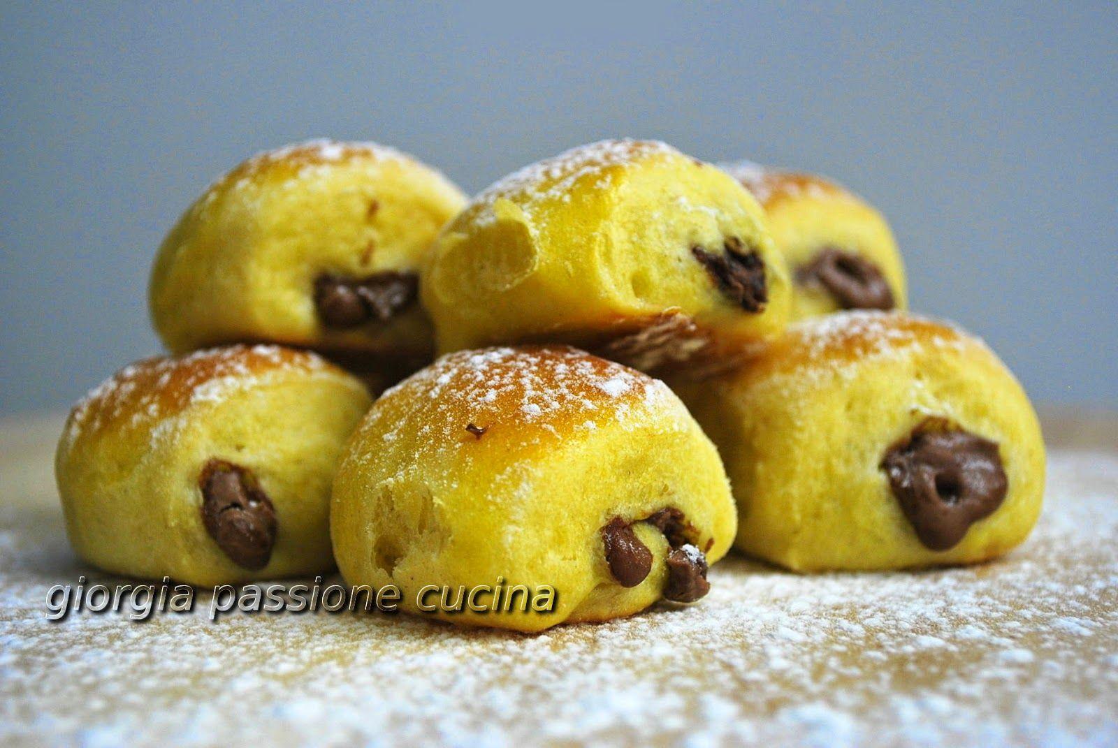 giorgia passione cucina: mini fagottini al cioccolato