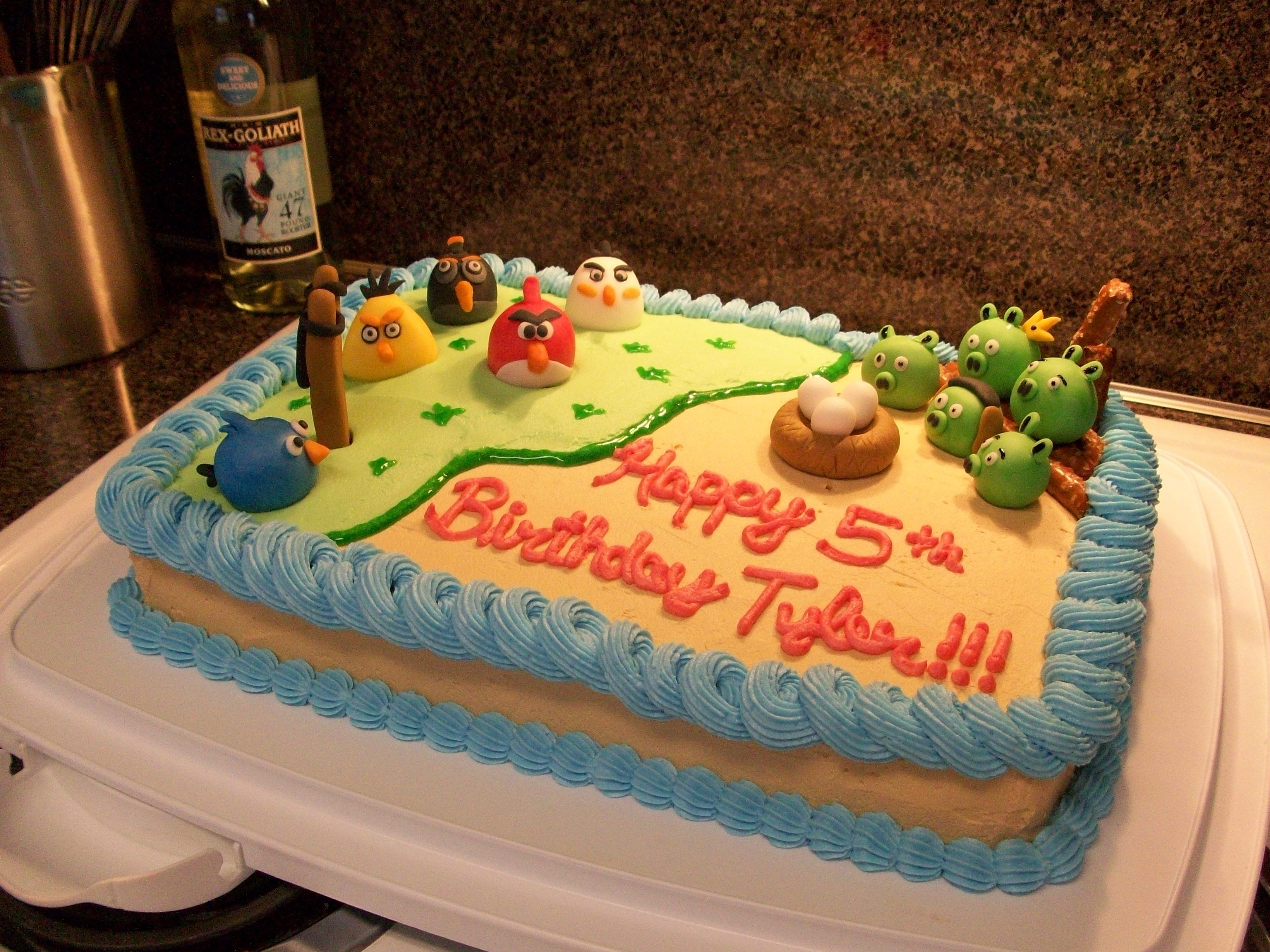 Angry Birds Cake Austin and Lydia Pinterest Angry birds cake