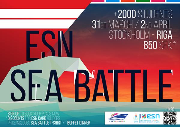 ESN SU Sea Battle Spring '14 by Luis Herram, via Behance