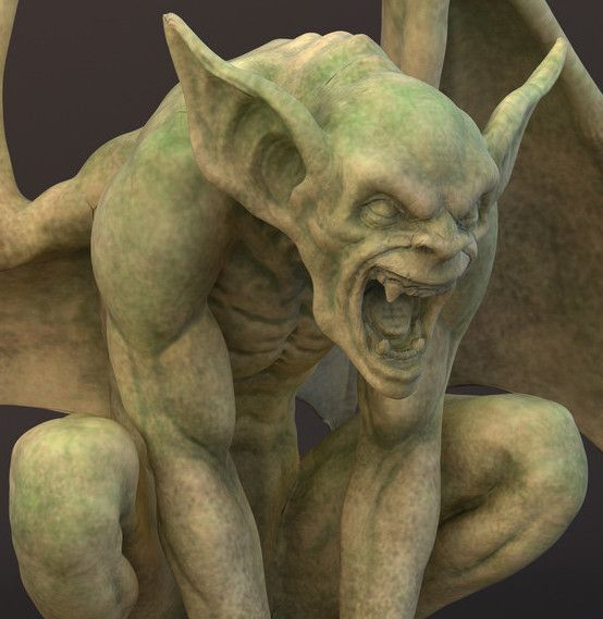 Architects Often Used Multiple Gargoyles On Buildings To Divide The Flow Of
