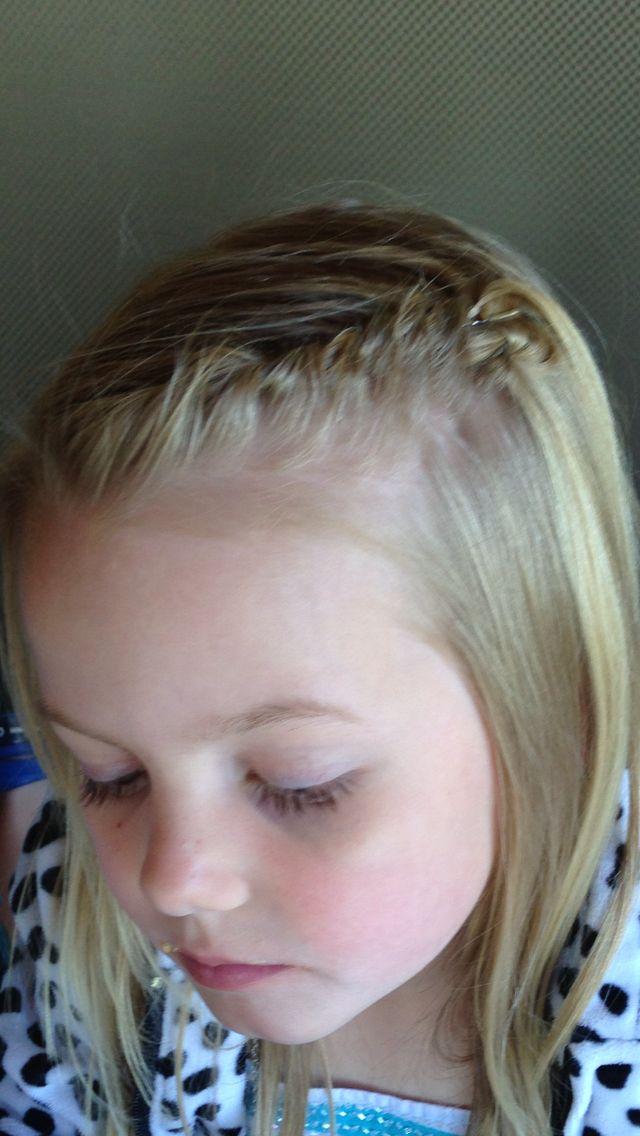 Hair Twist To Hide Short Bangs It Works Kids Hair Twist