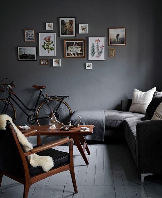 Small Dark And Dreamy Sfgirlbybay Bachelor Pad Living Room Wall Decor Living Room Mens Living Room