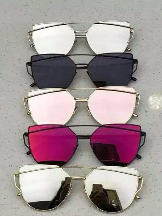 e2ca8ff6c Pin by Josefina Losada on Espejuelos | Óculos espelhado, Óculos para rosto  redondo, Óculos de sol feminino espelhado