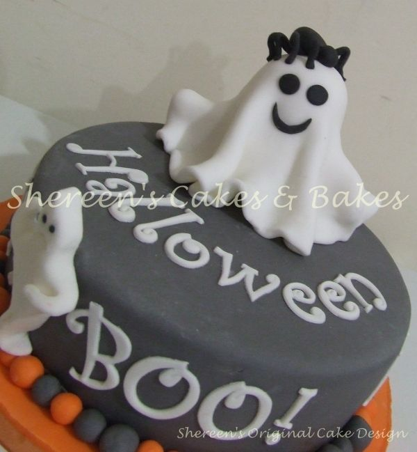 Halloween Ghost Cake With Images Ghost Cake Halloween Cakes Cake