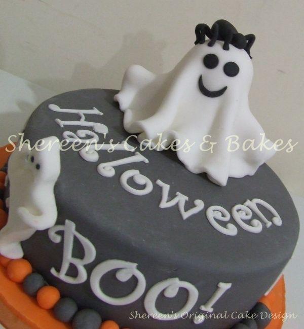 Damiens Birthday cake ideasHalloween Ghost Cake I think I will