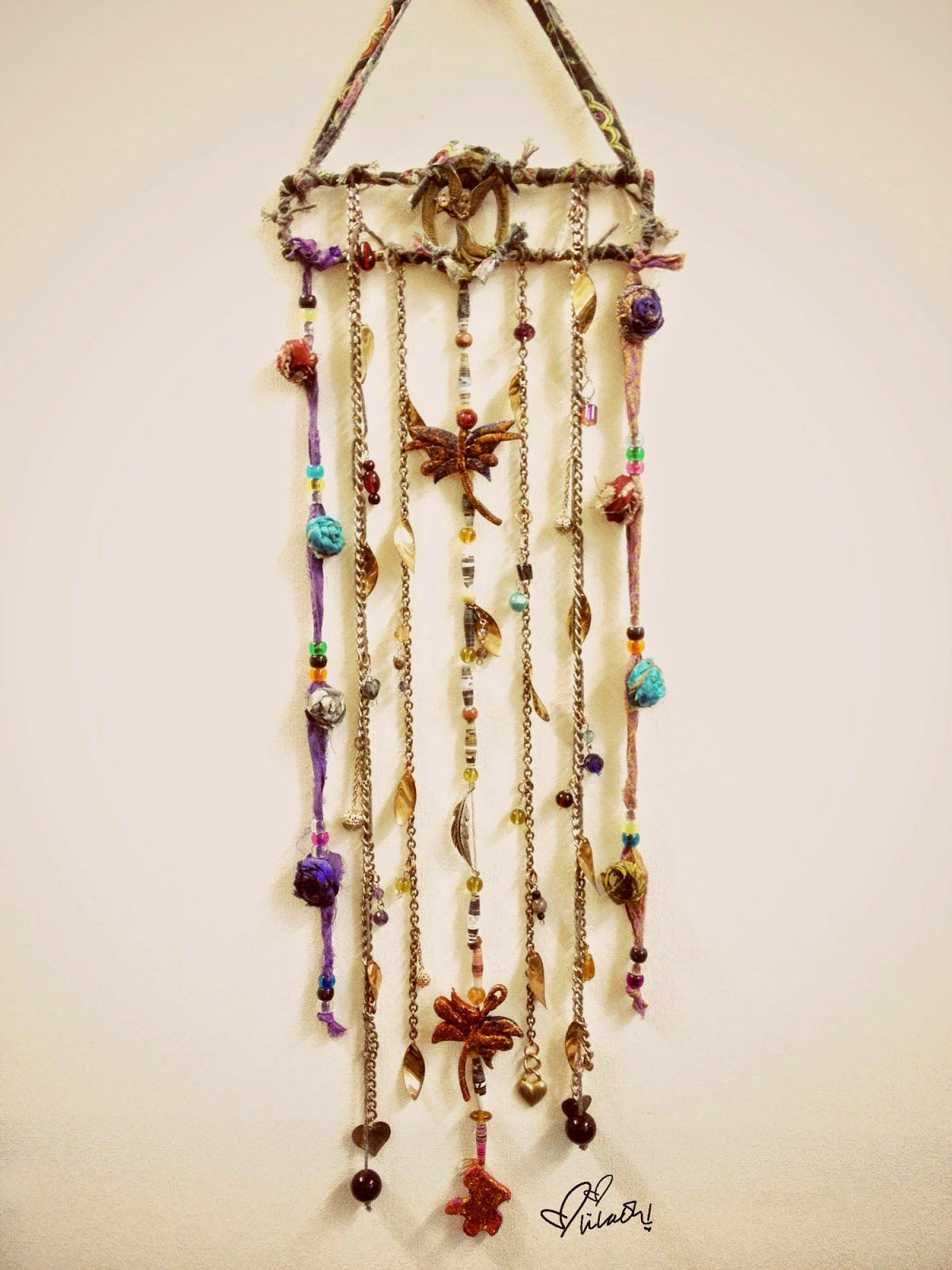 Boho Wall Hanging boho decor wall hanging handmade lilaoh | boho lovers | pinterest