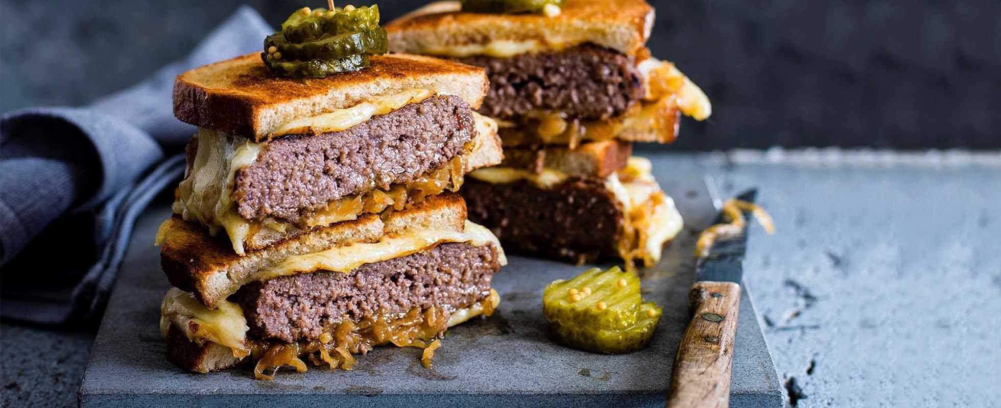 The patty melt sandwich Recipe in 2020 Patty melt