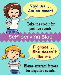 Self Serving Bias Self Bias Understanding
