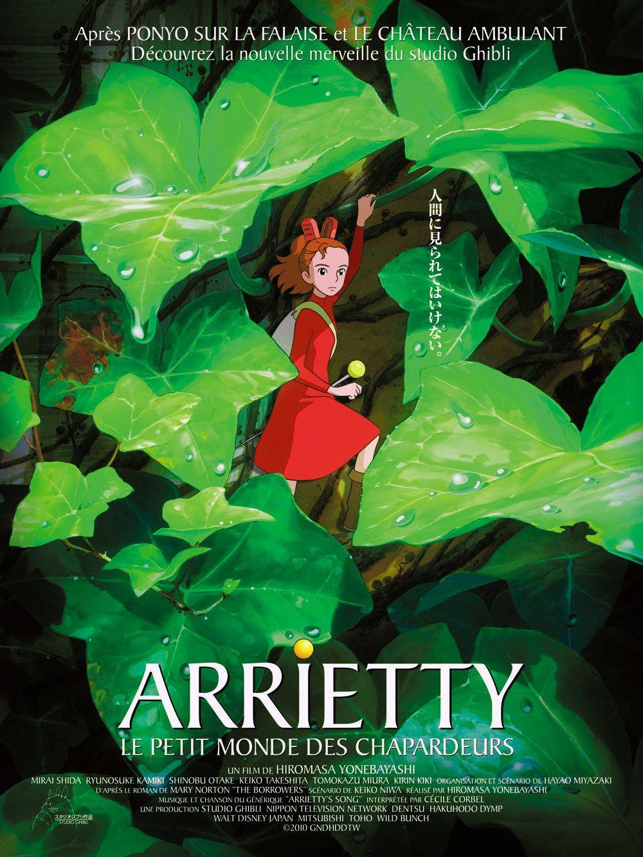 Le Petit Monde Des Chapardeurs : petit, monde, chapardeurs, Secret, World, Arrietty, (2010), Arrietty,, Studio, Ghibli,, Anime, Movies