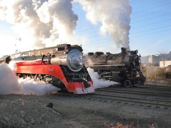Steam Locomotive Race