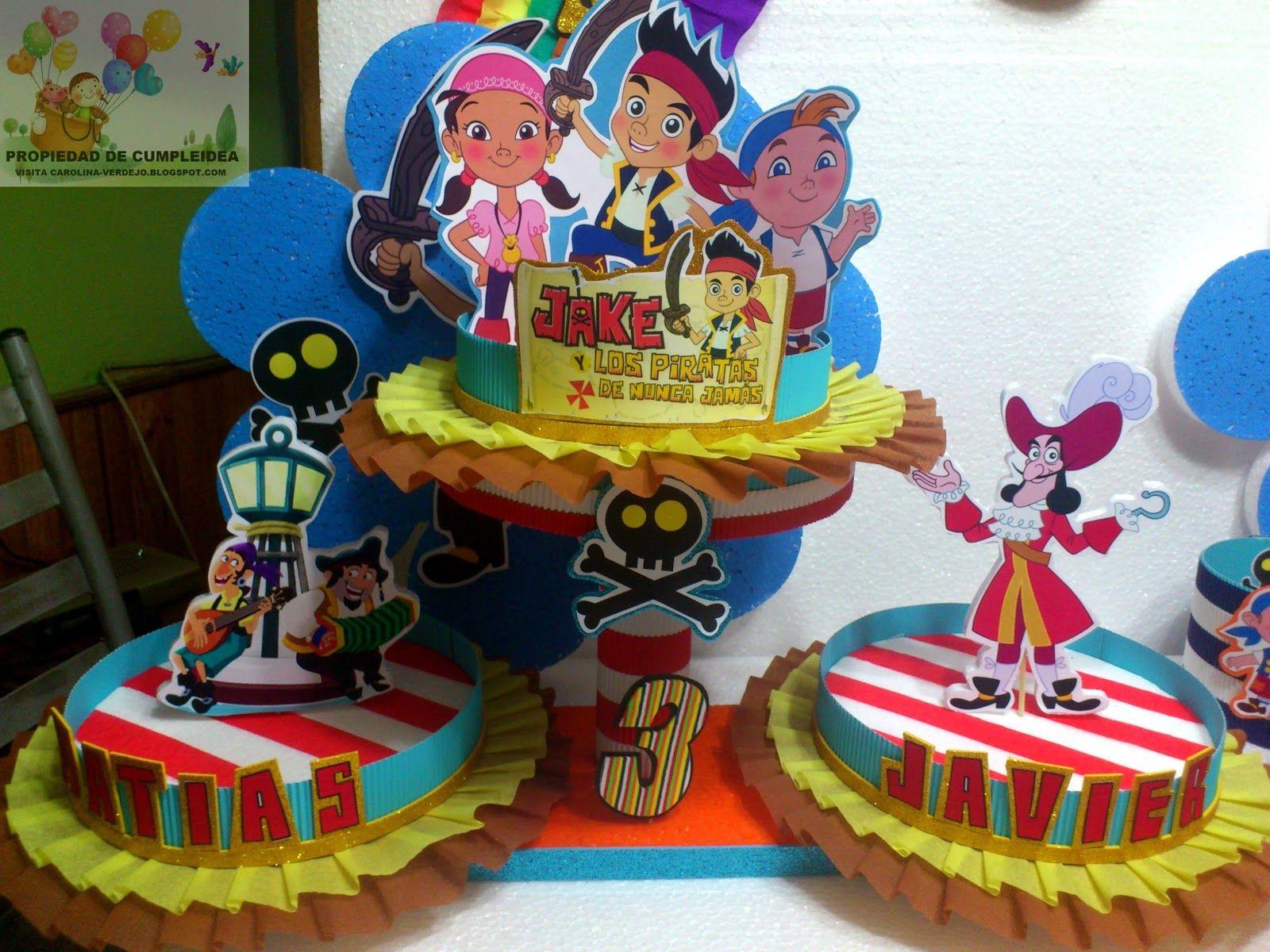 Decoraciones infantiles jake y los piratas de nunca jamas for Decoraciones para fiestas