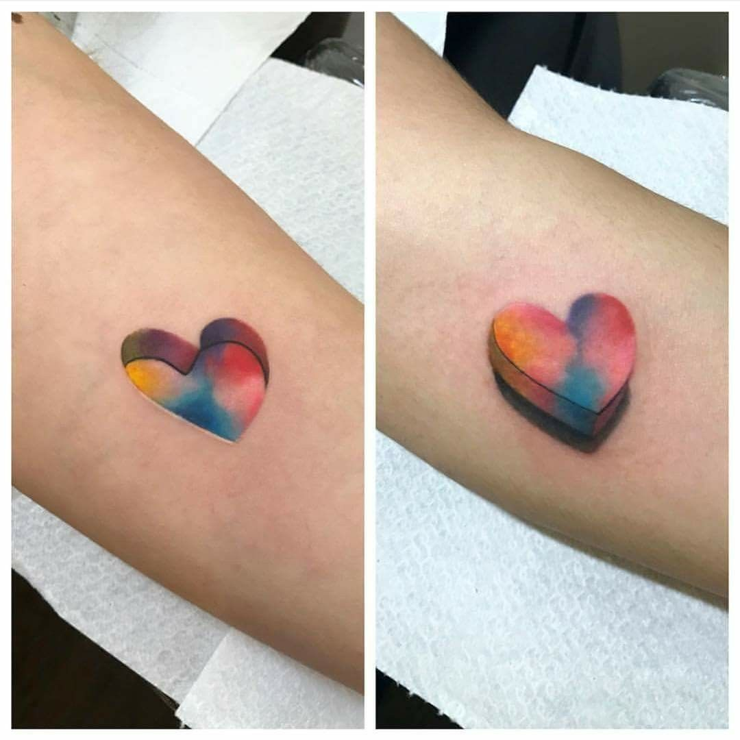 Heart cover up tattoo ideas pin by angie williams on tattoo ideas  pinterest  puzzle tattoos