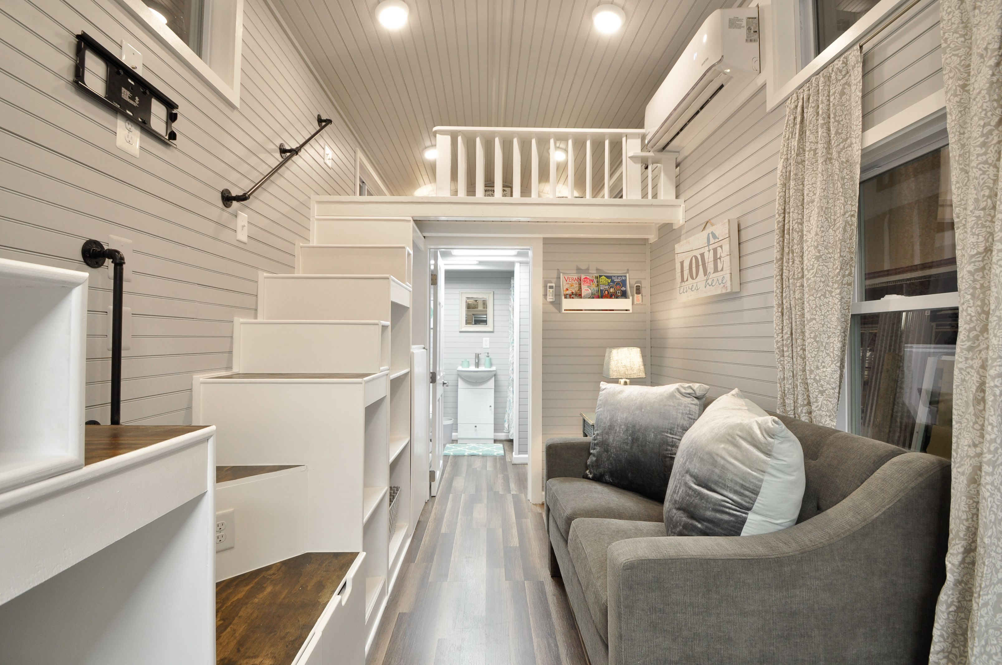 Modern & Spacious, The Kate Tiny House Features A Full