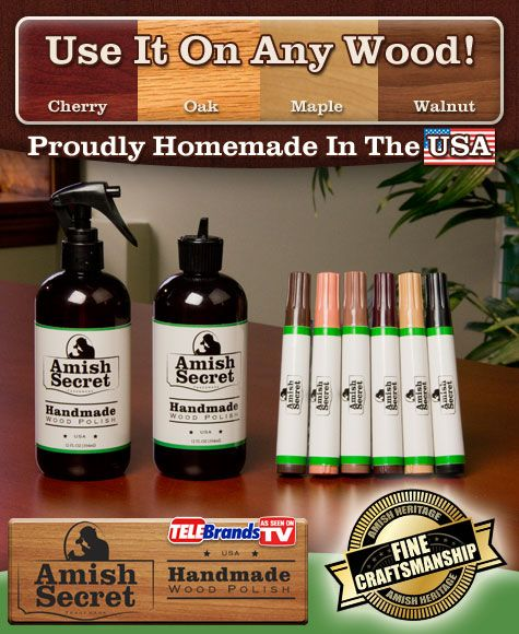 This Is The Official Website For The Amazing Amish Secret Check It Out Wood Polish The Secret Check It Out