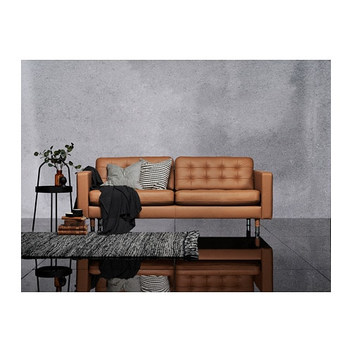Ikea Us Furniture And Home Furnishings Landskrona Sofa Brown Living Room Decor Sofa Furniture