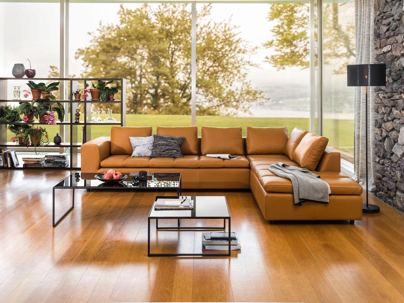 micasa wohnzimmer mit wohnsystem toro und salontische arndt, Wohnzimmer