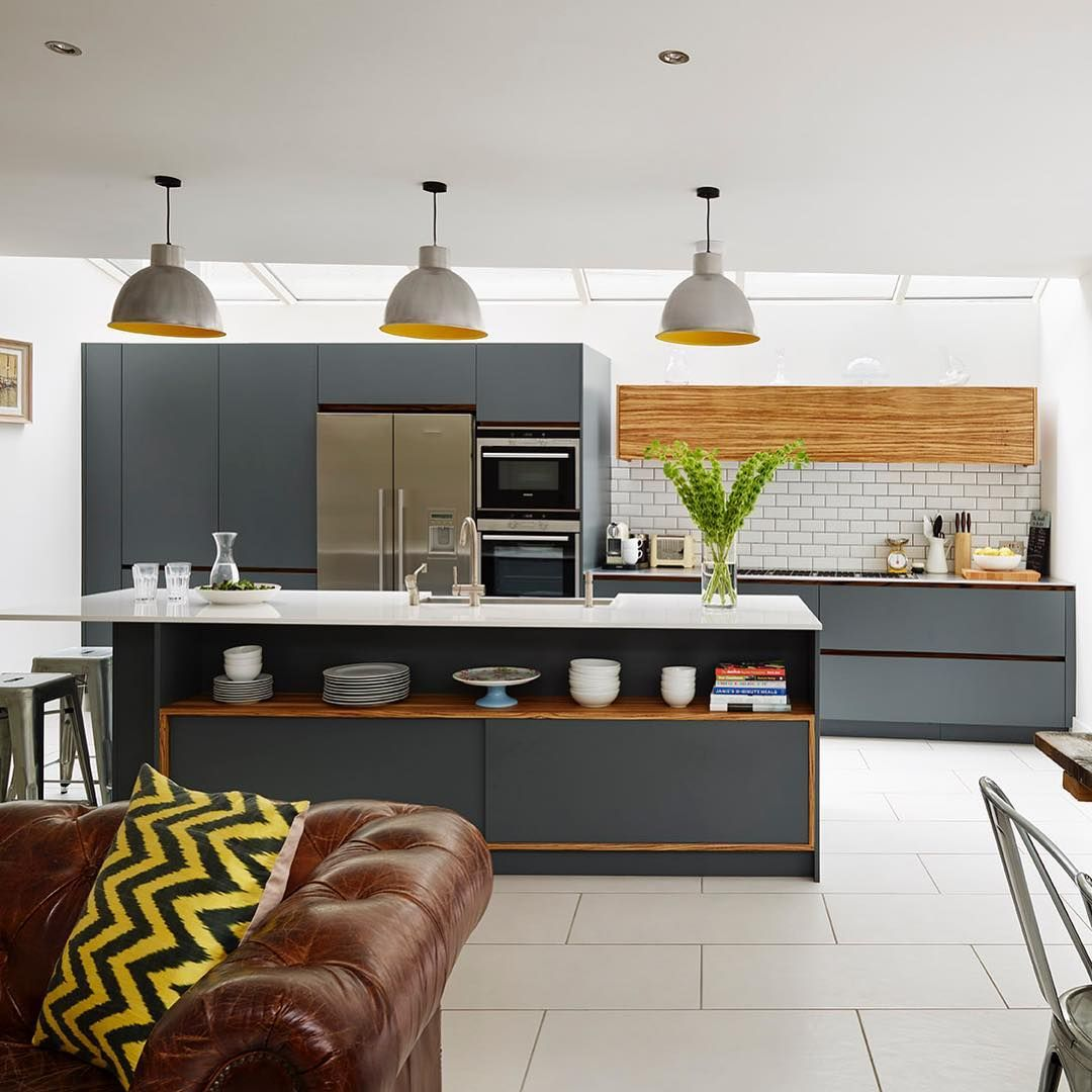 Roundhouse On Instagram A Practical Family Kitchen In A Great