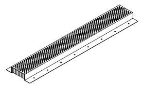 Fire Stopping Continuous Soffit Vent 2 X 120 In 1 Piece Facade House Fire Vented