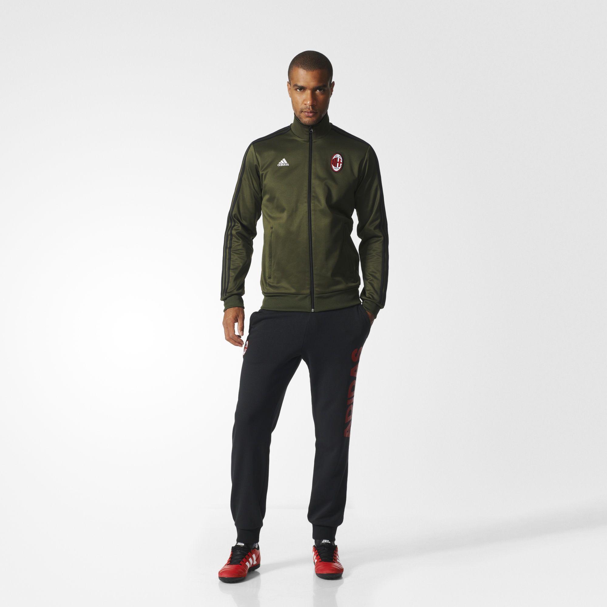 5f07d4e83e adidas - AC Milan 3-Stripes Track Jacket | Men's Fashion. Sharp ...