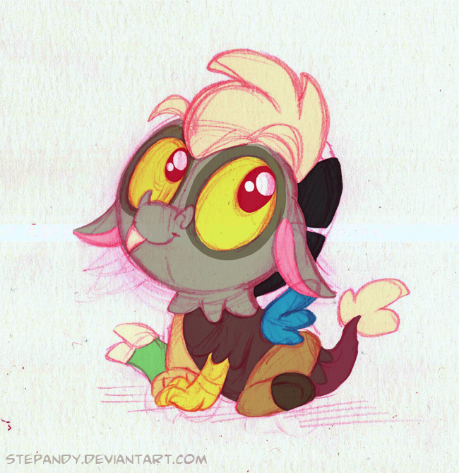 Baby Discord And Fluttershy Baby Discord by StePan...