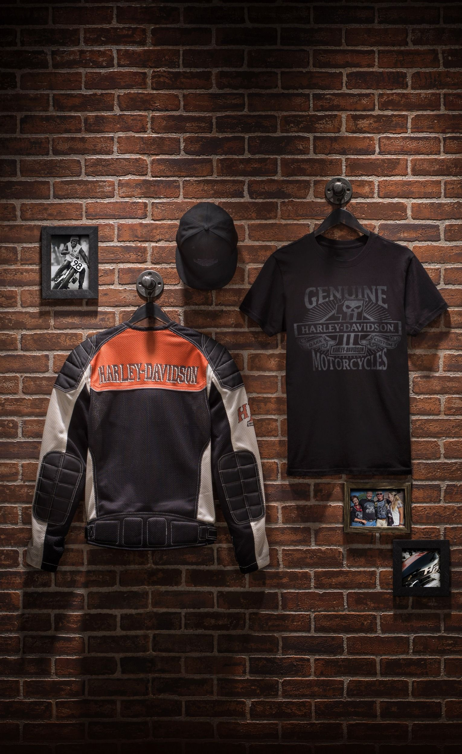 Dad always has your back. Now return the favor. | Harley-Davidson #FathersDay Gifts