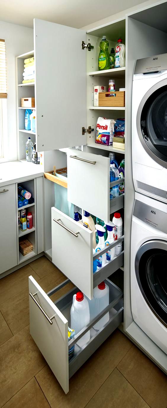 Pin Von Jutta G Dot Auf Putzschrank Orga In 2020 Hauswirtschaftsraum Badezimmer Wasche Waschkuche Aufraumen