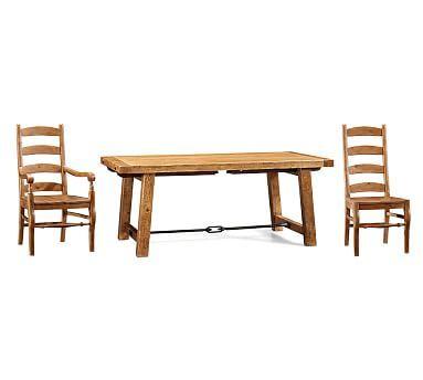 Pottery Barn Wynn Ladderback Side Chair