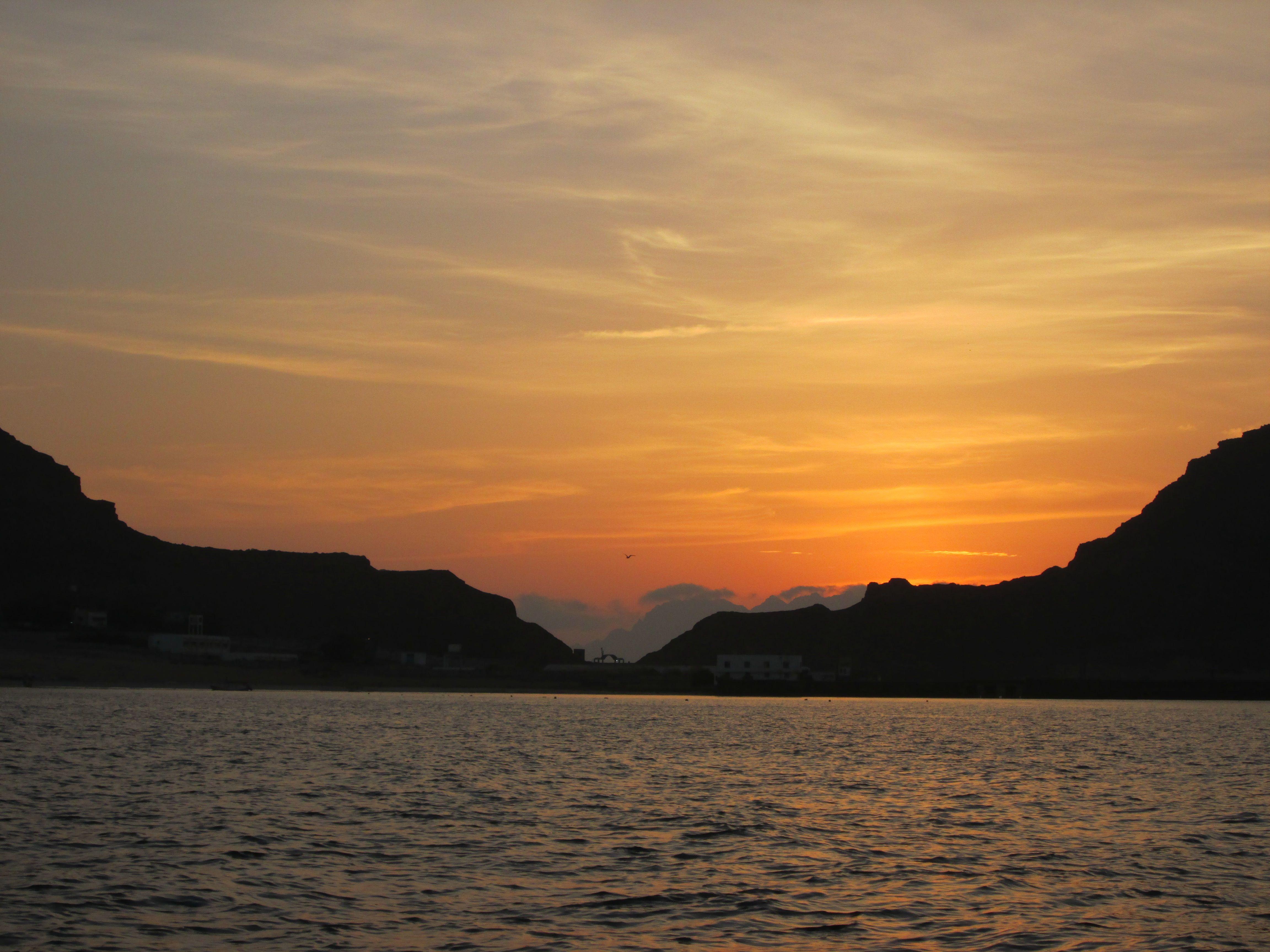 شروق شمس لميلاد يوم جديد من شاطى الغدير عدن اليمن Celestial Sunset Outdoor