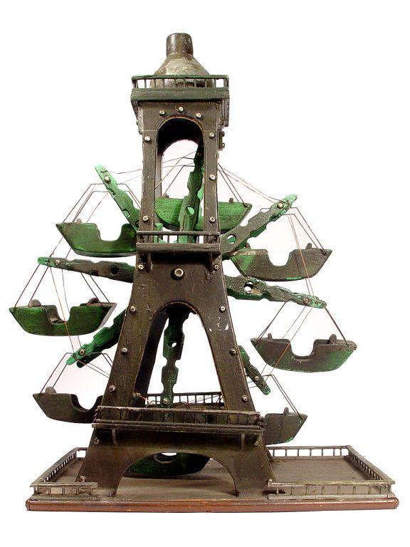 1900 eiffel tower ferris wheel toy