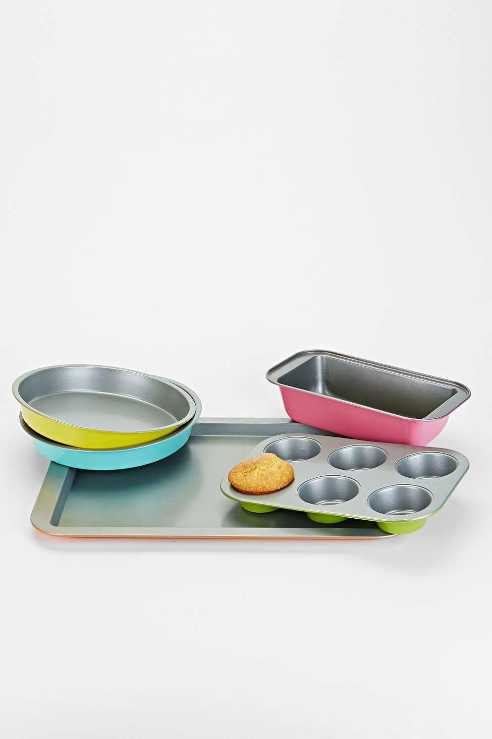 Colorful 5 Piece Bakeware Set Bakeware Decorative Bowls Color
