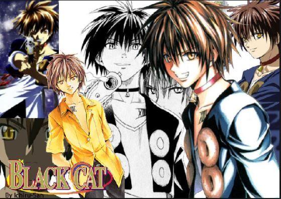 Pin By Anime Anime Manga Manga On Black Cat Black Cat Anime Black Cat Anime Fanart