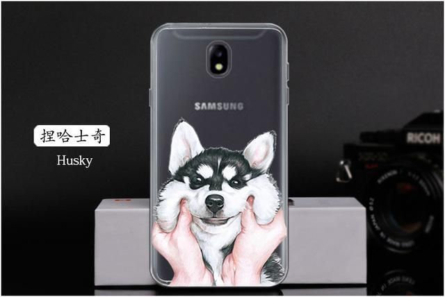 For Samsung Galaxy J7 2017 Case Cartoon Soft Tpu Silicone Phone Cases For Samsung J7 2017 J7 Pro 2017 J730 Hoesje Coque Silicone Phone Covers Samsung Case