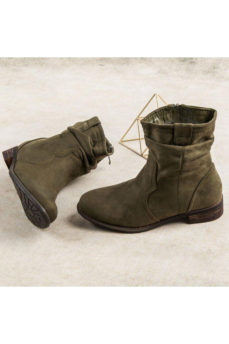 888c72d046 Olivové elegantné topánky Nio Nio