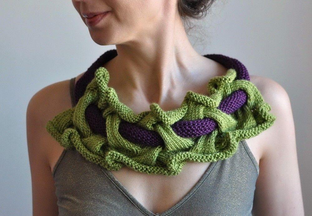 Idee creative nella fotogallery per realizzare collane for Idee creative uncinetto