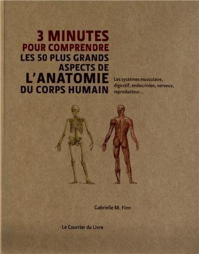 3 minutes pour comprendre les 50 plus grands aspects de l'anatomie du corps humain - Gabrielle Finn, Laurence Le Charpentier