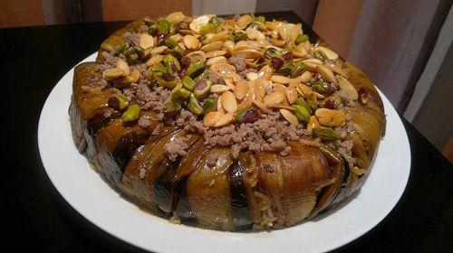 طريقة عمل مقلوبة لحم بالباذنجان طريقة Cooking Food Recipes