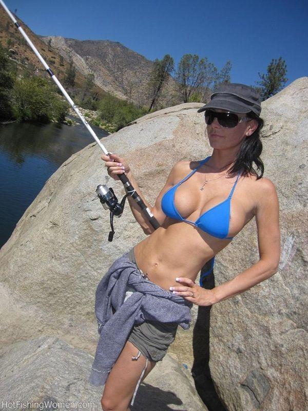 Reel sexy fishin for Hot girls fishing