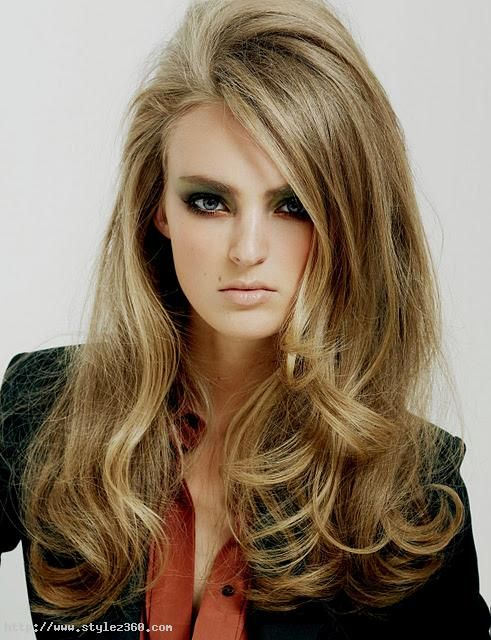 Blow Dry Styles For Long Hair Blow Dry Hair Hair Long Curly Hair