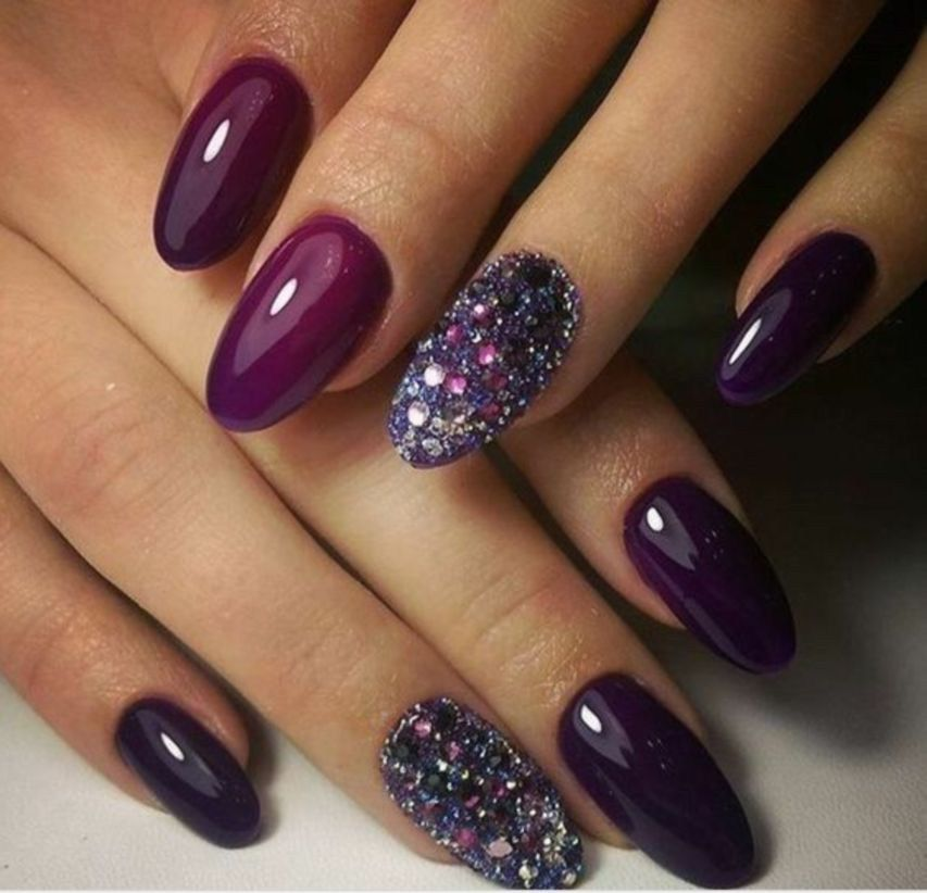 Outstanding Holiday Winter Nails Art Designs 2019 06 Nails