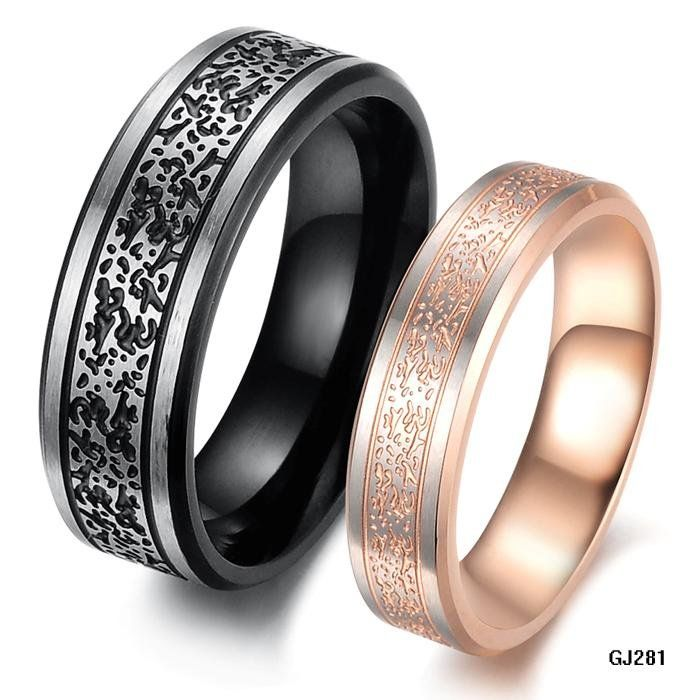 COUPLE-JEWELRY-RINGS-Finger-Ring-for-lover-black-and-gold-plated-316L-stainless-steel-band-ring.jpg (700×700)